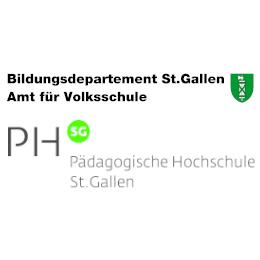 Logo Bildungsdepartement St.Gallen und pädagogische Hochschule St.Gallen